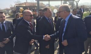 Duman Cengiz Başkan'ı karşıladı