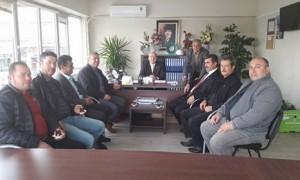 MHP'den Duman'a ziyaret