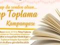 Kırkağaç Belediyesi'nden kitap toplama kampanyası