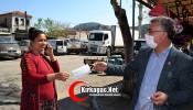 CHP'li Kaçar, ücretsiz maske dağıttı