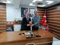 Hakan Demir'den Altıntaş'a veda ziyareti