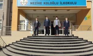 Nezihe Koloğlu okuluna protokol ziyareti