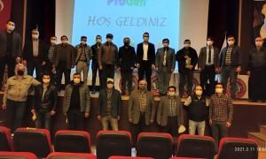Soya fasulyesi toplantısına Kırkağaç'lı üreticiler büyük ilgi gösterdi