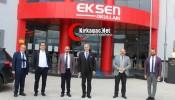 Doç. Dr. Mustafa Aydın'dan Akhisar Eksen Koleji'ne ziyaret