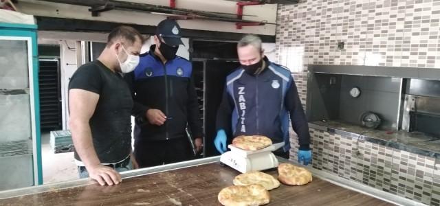 Kırkağaç'ta fırın denetimleri sürüyor