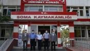 Büyükköse'den Soma Kaymakamı Akkaya'ya ziyaret