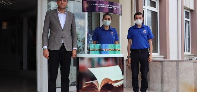 Mahkumlar için kitap bağışı düzenlendi