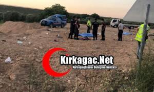 Kırkağaç'taki kazada 2 sendikacı yaşamını yitirdi